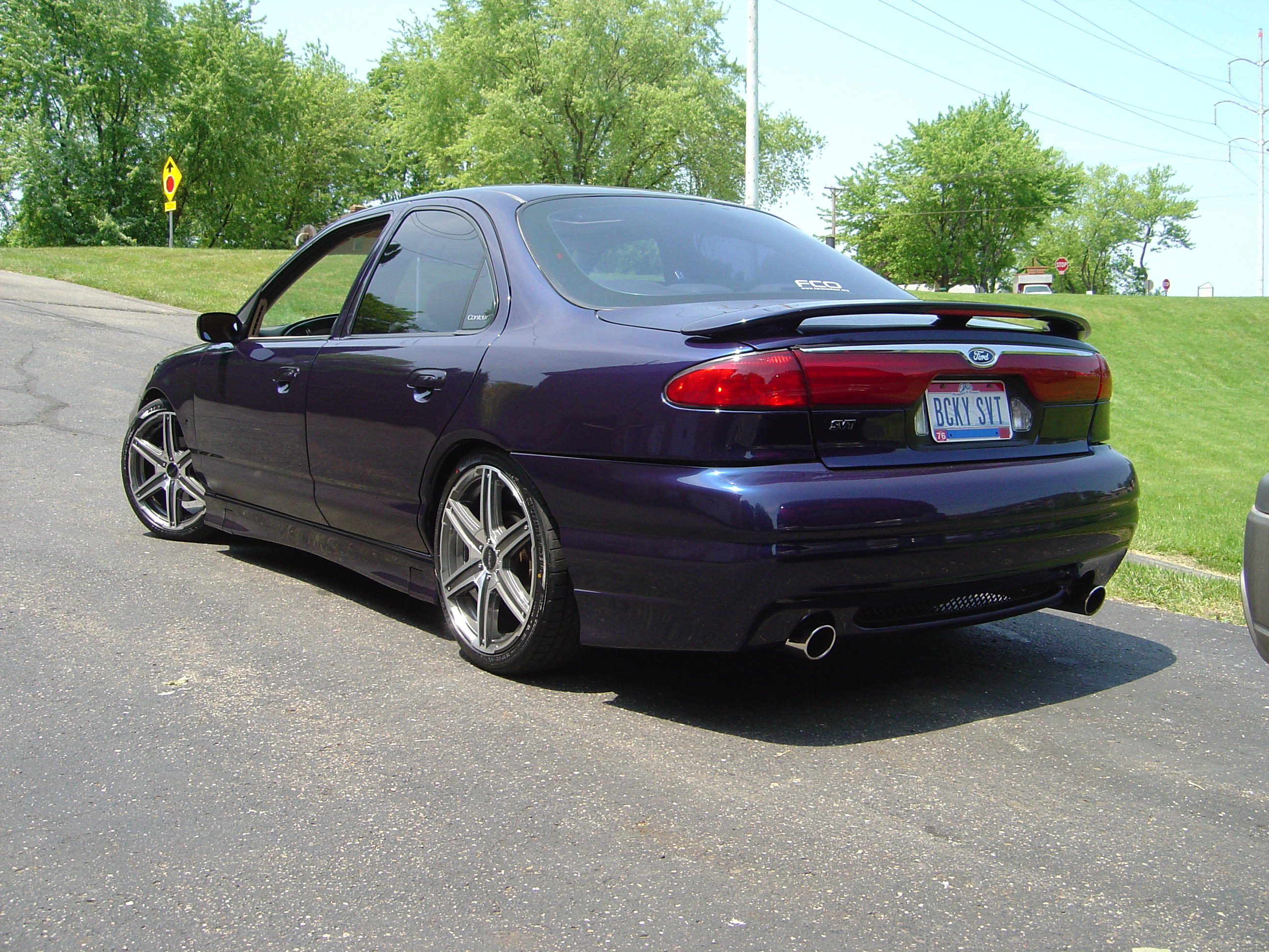 New pics of my SVT paint finished and new wheels! - Readers Rides ...