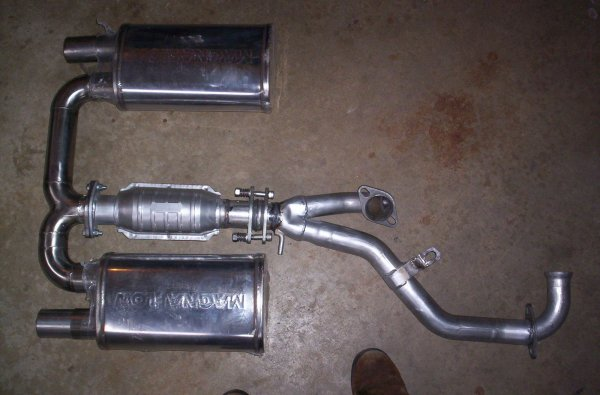 Cool SS exhaust