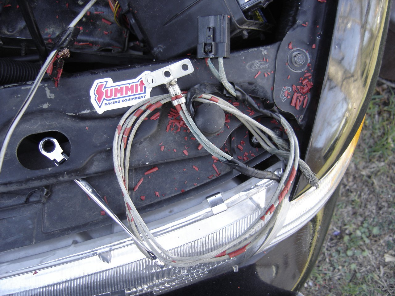 Buy A 1995 Ford Contour Engine Wiring Harness 45 Diagram Wire Insulation Gallery 2786 155 137682 Flaking Repair Under The Hood Fordcontour Org