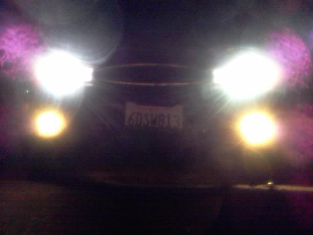 new lights night shot