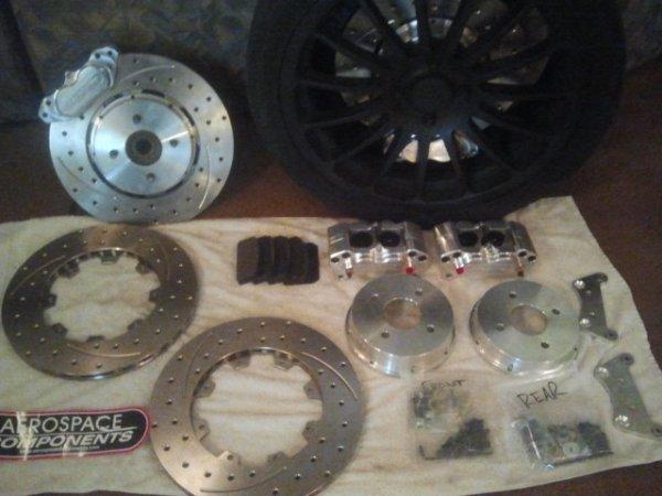 Aerospace Brake kit finished and Mock Up